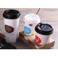 Quality Custom Printed Single Wall Paper Cups For Cold Drinking With Plastic Lids for sale