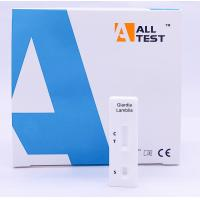 Buy cheap High sensitivity Giardia lamblia Rapid Test Cassette , lateral flow test strips from wholesalers