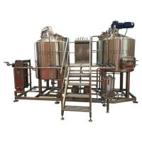 Buy high quality mini beer brewery 400l home beer making machines for making craft beer at wholesale prices