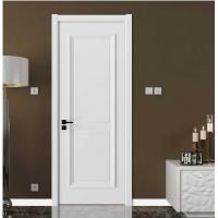Quality Elegant Modern Wood Panel Door For Hotel With Locks White Color VF-611 for sale