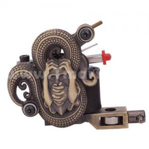 Quality new design Copper Red Handmade Empaistic Tattoo Machine gun for sale