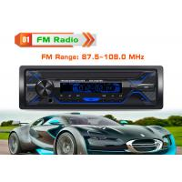 Buy cheap Black Bt Car Stereo With Bluetooth And Cd Player Support Hands - Free Calls from wholesalers