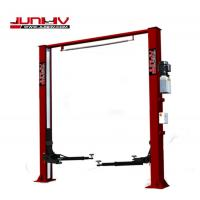 Quality Overall Width 3950mm 2 Post Vehicle Lift , Car Parking Lift Optional Color for sale