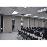 China Plywood Meeting Room Hanging Sliding Door Banquet Hall Partition Wall on sale