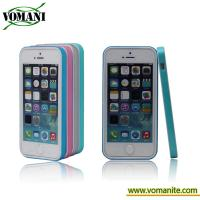 Quality Hybrid Hard PC TPU Gloss Bumper Frame Case Cover for Apple iPhone 5 5S for sale