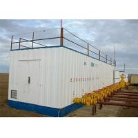 China High Pressure Natural Gas Fueling Station Wet Gas Re - Injection And Metering Skid on sale