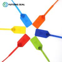 Quality YTPS 407 Security plastic tight seal and tags for bags Plastic Seal  for sale
