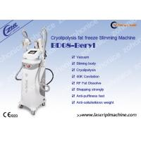 China 1.8  color screen Vertical 40K Cryolipolysis Slimming Machine 122*59*51cm With 3 Handles For Fat Freezing on sale