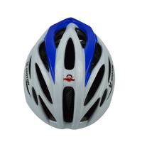 Quality EPS Mens Mountain Bike Helmets , White Bicycle Helmet With Visor for sale