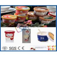 500L Plastic Cup Dairy Processing Plant , Professional Ice Cream Making Machine