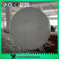 Quality Factory Directly Supply Event Decoration White Inflatable Ball With LED Light for sale