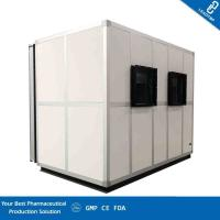 Quality Customizable Combined Clean Room AHU / Air Handling Unit Room For Pharmaceutical for sale