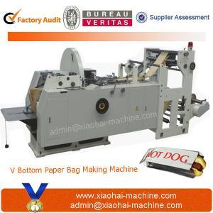 China LMD-400 Automatic High Speed Sharp Bottom Paper Bag Machine on sale