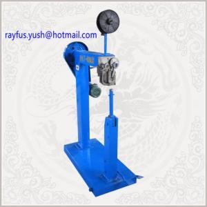 Quality Manual Corrugated Box Stapler Machine Pedal Control Single Staple Straight Cross Oblique for sale