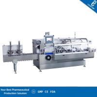 Quality High Speed Automatic Cartoning Machine With 200 Cartons Per Minute Capacity for sale