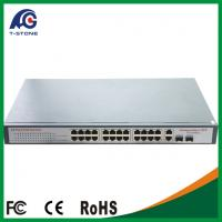 Quality 2015 New Arrival Rushed 24 Port Switch 24 Ports Poe Switch Manufacturer Port For Ip Camera for sale