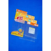 China High Clear OPP Header Bag Customized With Reinforce Line For Snack on sale