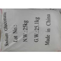 Quality Sodium Gluconate In Soap Concrete Construction Gluconc Acid 98% As Water Reducer for sale