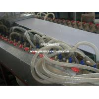Quality PVC Ceiling Board / Platfond / Buckle Plate Making Machine 300mm Profile Width for sale