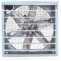 Quality Wall Mounted Kitchen Extractor Fan 380v 1100w With Galvanized Steel Material for sale