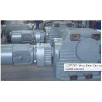China K187RF97 Helical Bevel Gearbox with R Series Helical Gearbox on sale