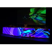 Collapsable P6 Indoor LED Display Screen Rental With 2000 Nits Black Module