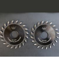 Quality Chromium Coated Thin Kerf Saw Blade , Table Saw Router Blade Non Deformation for sale