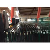 Quality 2-19mm Clear & Tinted Toughened Tempered Safety Glass With Ce&CCC&ISO Certificate for sale