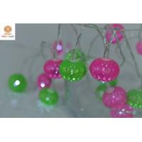 Quality Xmas Decoration Colorful Round Ball LED White Indoor & Outdoor Christmas decorative Lights for sale