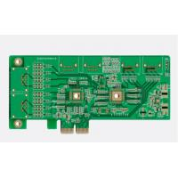 Quality 4 Layer Immersion Gold PCB 200mm*110mm  1.6mm  Thickness Through-Hole Soldering for sale