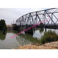 Quality Raft Portable Floating Bridge , Emergency Military Steel Bailey Plate Troops Vehicle Passing for sale