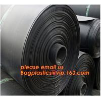 Quality 0.8mm pond liner hdpe fish pond geomembrane,Composite Geomembrane for fishing pond,Polyester Needle Punched Nonwoven Geo for sale
