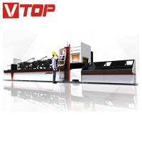 Quality Automatic Bundle Loader Fiber Laser Tube / Pipe Cutting Machine for sale