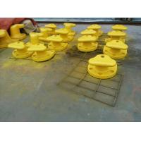 Buy cheap Marine Cast Iron Steel / Mild Steel Tee Head Mooring Bollard With Epoxy Primer from wholesalers