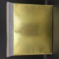 Quality large golden bubble waterproof bag in size 50*60CM for gift packaging for sale