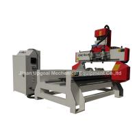 Quality 500*1000mm Flat Cylinder CNC Carving Machine with 2 Spindles 2 Rotary Axis for sale