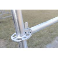 Quality Steel Ringlock Scaffolding for Construction, Q345 Material, HDG Ringlock Scaffolding for sale
