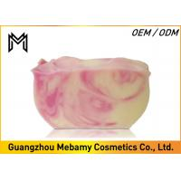 China Coconut Oil Goat Milk Organic Handmade Soap Rose Oil Whitening Skin Big Bars on sale