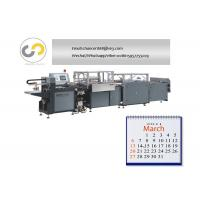 Quality Fully automatic hardcover book binding machine for notebook, level arch file folder for sale