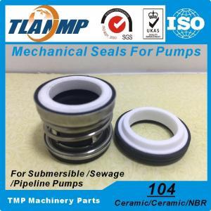 China 104-12/14/15/16/17/18/19/20/22/25/30/35/40/45 Water Pump Mechanical Seals (Material: Ceramic/Ceramic/NBR) on sale