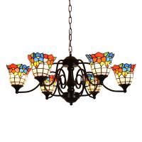 Quality Louis comfort tiffany pendant chandelier lamps for indoor house Lighting (WH-TF-13) for sale