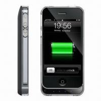 Quality Colorful External Backup Battery Cases for iPhone 4G, Bumpers, New Design for iPhone 5G Coming Soon for sale