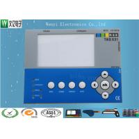 Quality Polydome Embossing Membrane Switch Overlay Hi Glossy Clear Transparent LED Window for sale