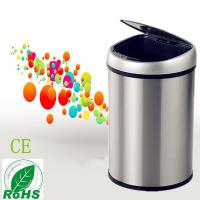 Quality Stainless Steel Round Home Garbage Bin Stand/GYT8-2C-Y for sale