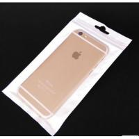 China Eco - Friendly White Clear Opp Plastic Bag Ziplock For Cellphone Case on sale
