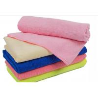 Quality 80% polyester +20% polyamide soft and super absorbent 250gsm microfiber towel with promotion price for sale