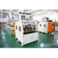 China Full Automatic Stator Electric Motor Winding Machine With Eight Working Station on sale