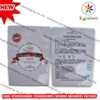China Mylar Heat Sealed Comestic Packaging Bag With Tear Notch on sale