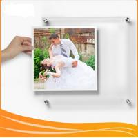 Manufacturer Supplies wall-mounted Crystal Acrylic picture Frame