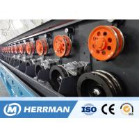 Quality Multi - Head Aluminum Wire Drawing Machine Siemens Motor Fatigue Resistant for sale
